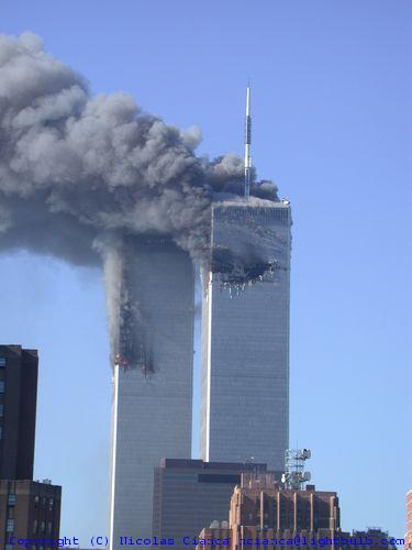 review fires in the twin towers
