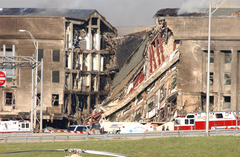9 11 Review ERROR The Pentagon Attack Left Only A Small Impact Hole