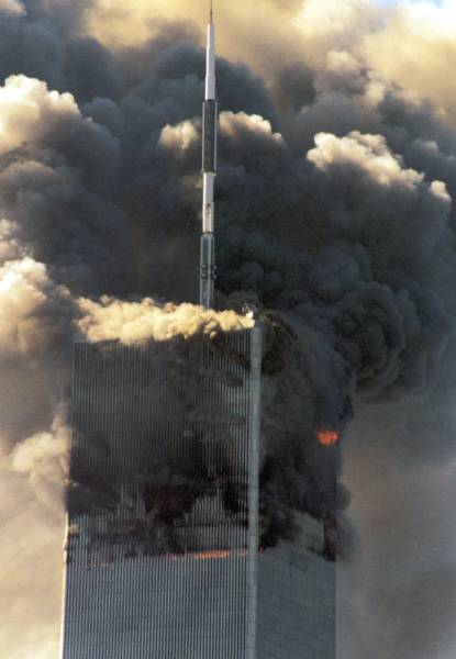 9 11 Review Error Both Towers Fires Diminished Before