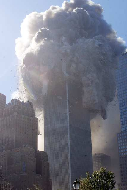 twin towers collapsed. shows that the Twin Towers