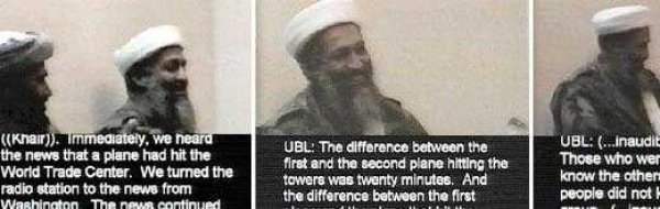 review osama bin laden on friday 14 2001 a videotape of osama bin laden confessing to the 9 11 attacks was released