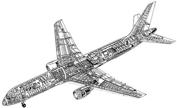 airplane engine diagram  airplane  free engine image for Boeing 797 Boeing 767